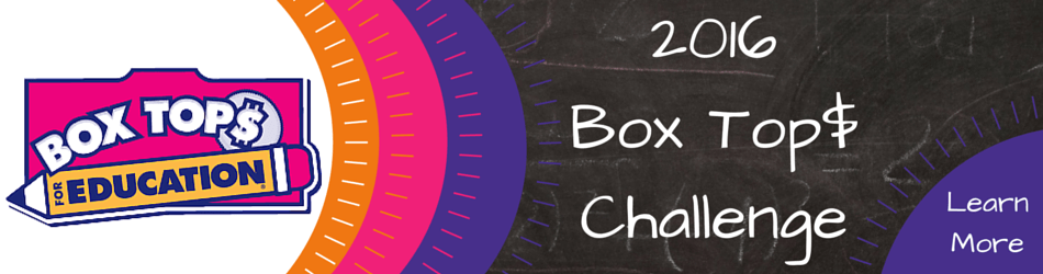 2016 Box Tops Challenge Web Banner