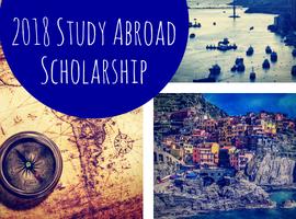 2018 Study Abroad Recipient