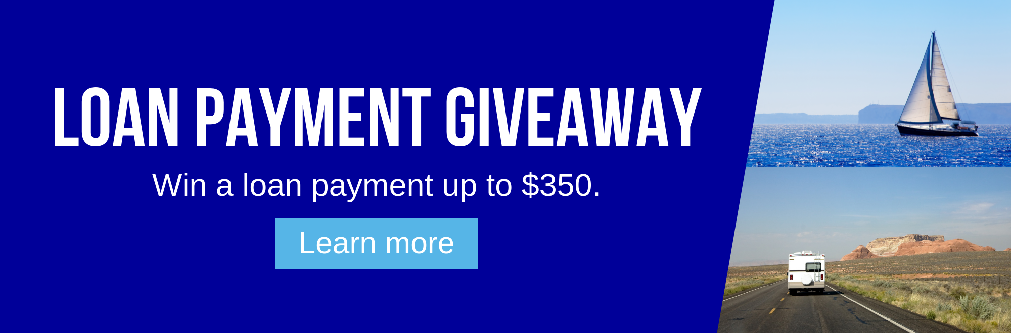 Link to information on our Loan Payment Giveaway.