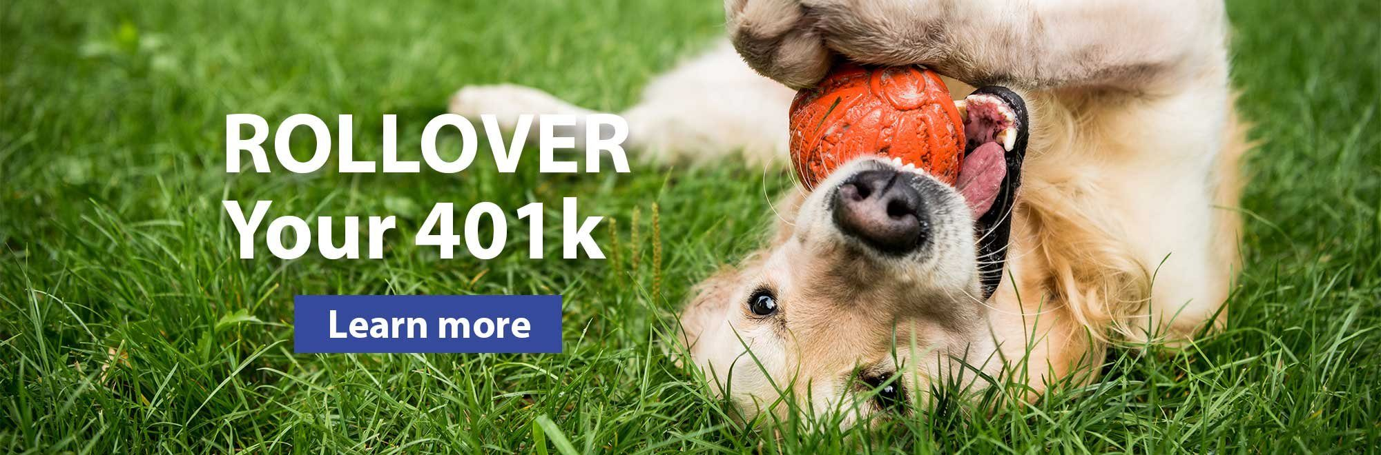 Rollover you 401k. Learn more.