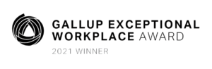 2021 Gallup Exceptional Workplace Award Winner