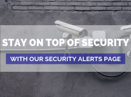 Ad for our Alerts and Security Page