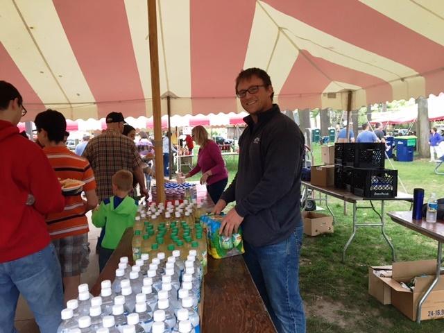 TBA Credit Union volunteering at the NMC BBQ