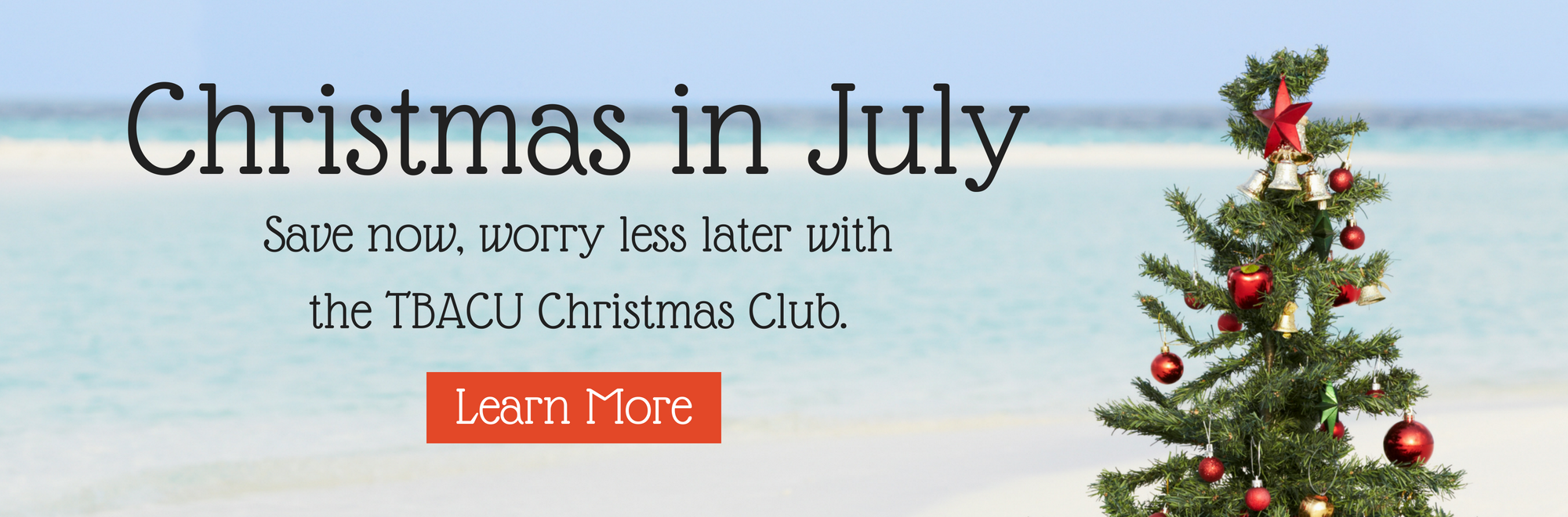 Christmas in July - Learn More