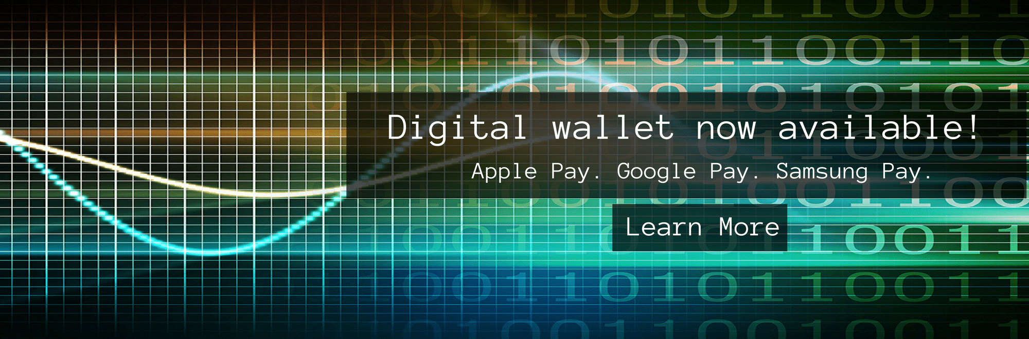 Digital Wallet Now Available