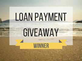Loan Payment Giveaway Winner
