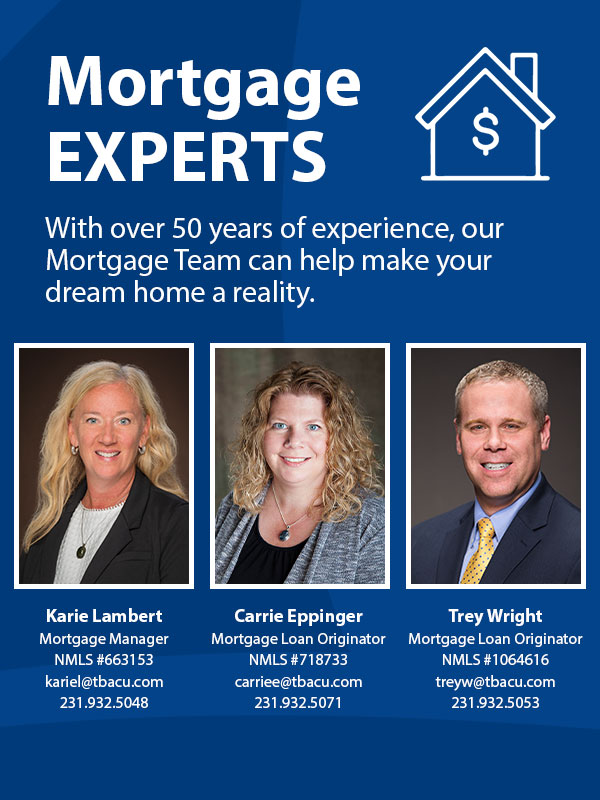 With over 50 years of experience, our Mortgage Team can help make your dream home a reality