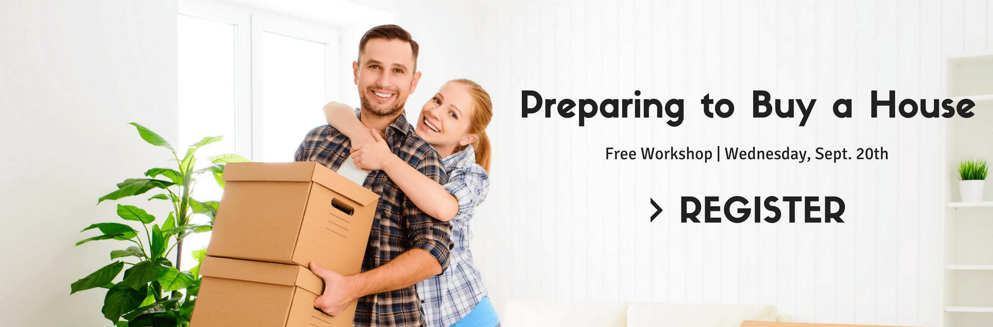 Preparing to Buy a House Web Banner