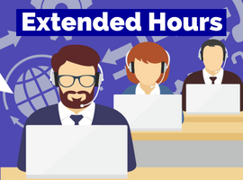 Service Center Extended Hours