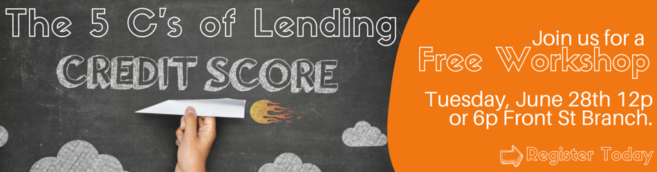 The 5 C's of Lending 6.28.16 Web Banner