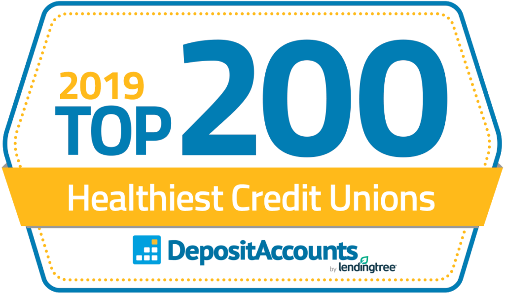 Top200 Badge - Credit Unions 2019
