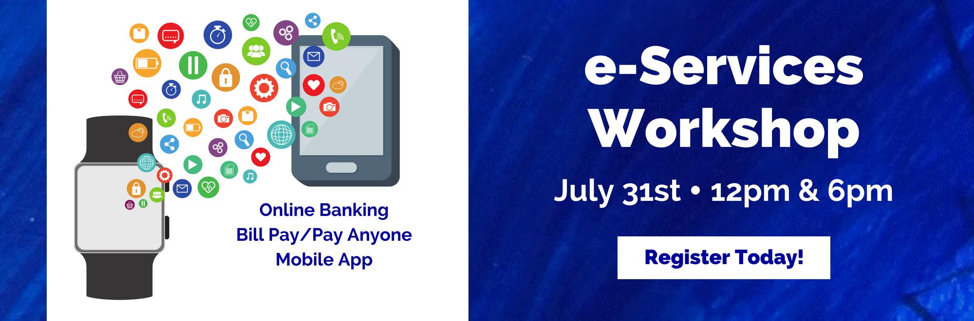 e-Services Workshop-Register Today!