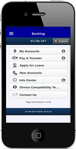 TBA Credit Union Mobile Banking on Phone - image